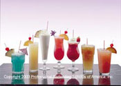 Exotic Tall Drinks
